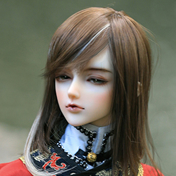 taobao agent BJD doll, ASDOLL wig, 3 points male Huaxi ancient style hair, WG318121 //