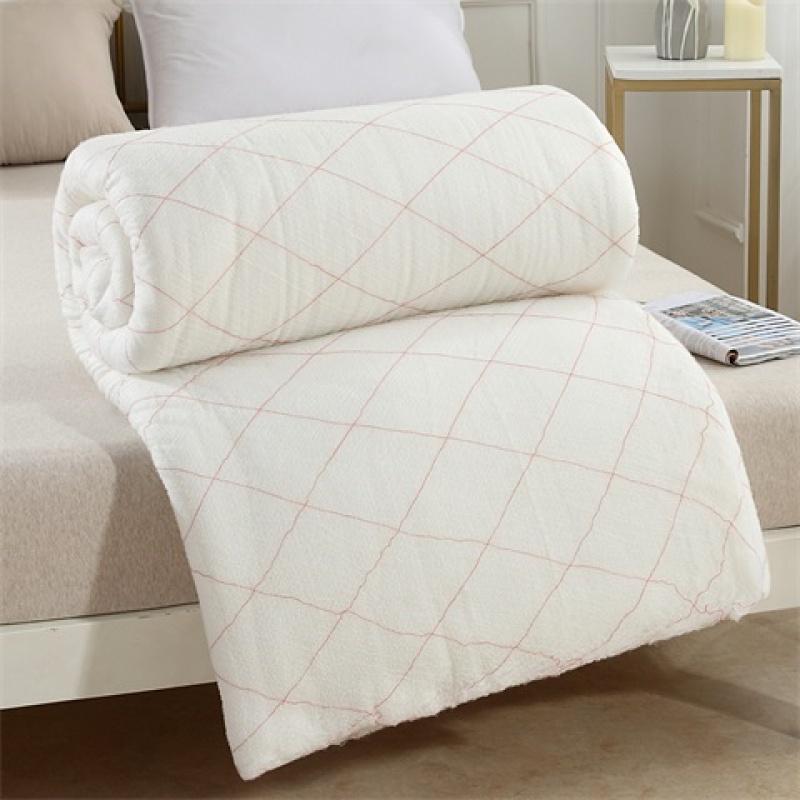 春秋冬被棉絮棉被棉胎垫被学生棉被子床垫褥子被芯单人被褥厚款