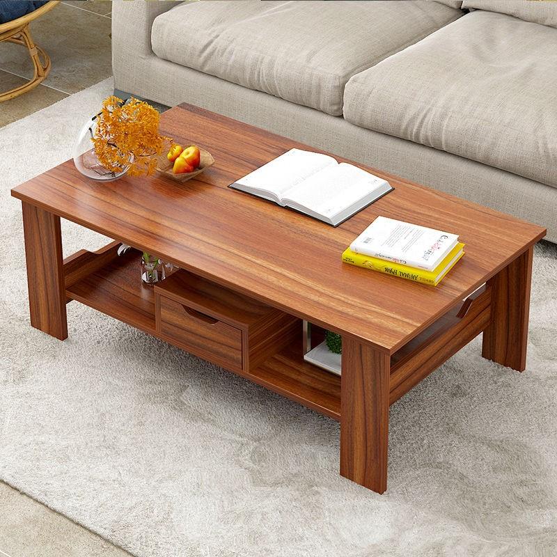 茶几客厅简约现代沙发边几小桌子简易北欧仿实木茶几小户型茶桌子
