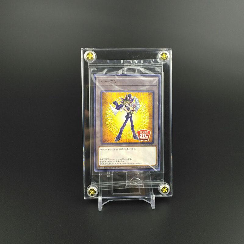 游戏王卡砖 PTCG万智卡夹 保护盒 珍贵卡片的展示用品\n专用展示架