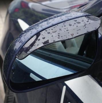 Đích thực gương chiếu hậu xe hơi, gương, gương, che mưa, mưa visor, mưa lông mày, tải, màu đen trong suốt