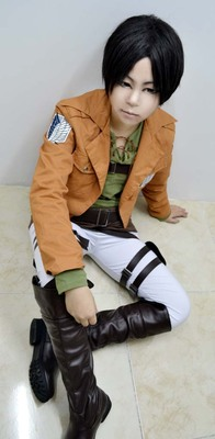 taobao agent Cosplay Anime Costume Attack on Giant Investigation Corps COS Allen Mikasa Captain Complete Set