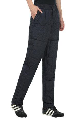 Mùa đông xuống quần nam cao eo dày kích thước lớn trung niên ấm áp quần lót ánh sáng vịt xuống mặc quần