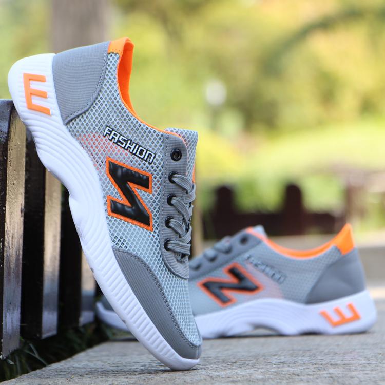 Mùa hè người đàn ông mới của lưới thở nhẹ chạy giày khử mùi lưới giày của nam giới giày sinh viên giày thể thao giản dị giày