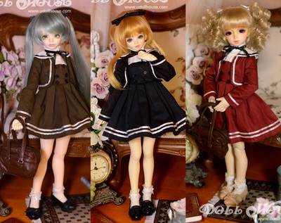 taobao agent [160402] High school and elementary school girls 4 points MSD MDD and other 4 points size suit