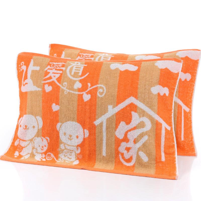 Shilong bông yếu 捻 người lớn gối khăn bán buôn nhà nhà gối khăn nhà máy sản xuất trực tiếp đám cưới nóng bán phúc lợi bảo hiểm lao động