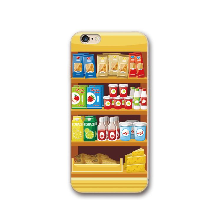 零食贩卖机iphone7手机壳XSmax个性卡通苹果8硅胶6plus创意xr软壳