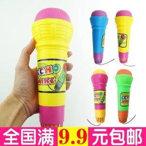 Echo Microphone Con Microphone Microphone Đồ Chơi Microphone Karaoke Bé Sừng Nhạc Cụ Âm Nhạc Ca Hát