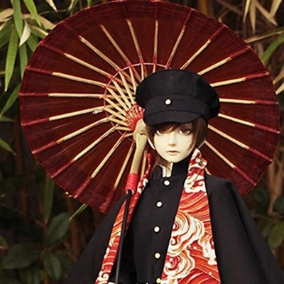 taobao agent BJD/SD doll props, RD official baby with umbrella, uncle and three-point baby with antique bamboo umbrella-Rot72