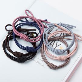 9个装韩版高档简约气质发圈发绳皮筋套装
