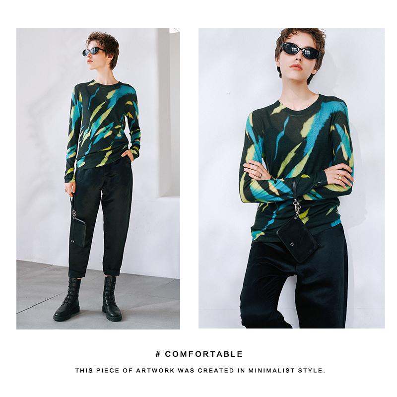 @看了又看 特 GAO级感的丝麻面料 可帅可酷的暗黑低奢光泽休闲裤
