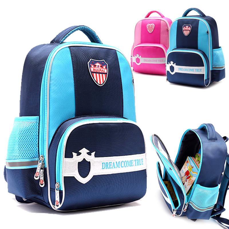 RUIPAI书包小学生男1-3-4年级背包儿童书包女6-12周岁护脊双肩包