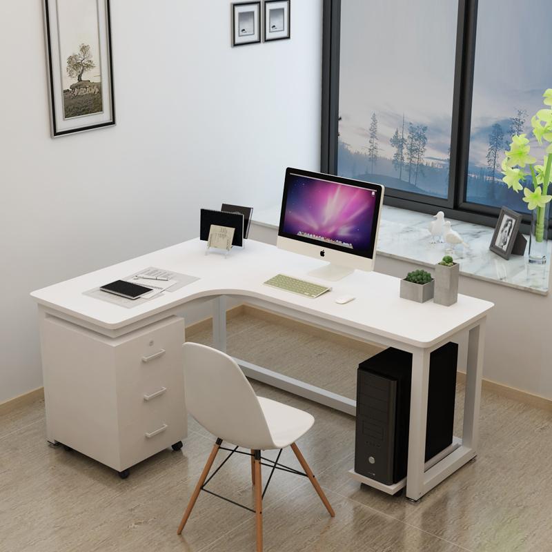 Угловой письменный стол фото