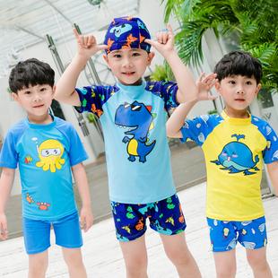 儿童分体防晒宝宝泳衣泳裤套装