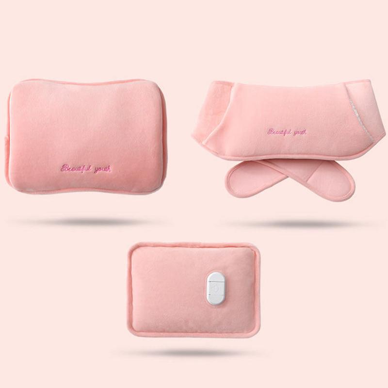 热水袋充电防爆暖水袋煖宝宝女可爱毛绒暖手
