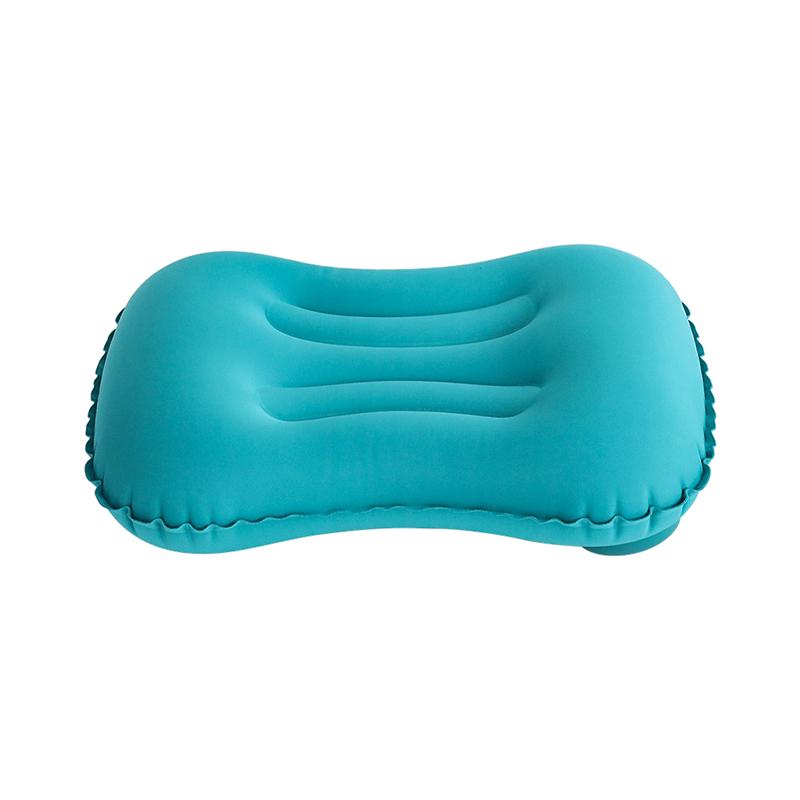 【Нажмите на надувную поясничную подушку】озеро синий без Раздавать