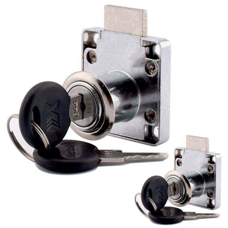 办公桌锁抽屉锁柜子锁锁具家用门锁衣柜锁加长家具锁文件柜锁具