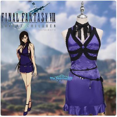 taobao agent Final Fantasy 7 Reset Version Tifa Tifa Cos Little Dress Cosplay Women's Clothing Customization