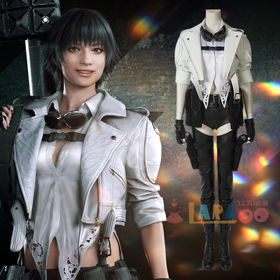 taobao agent Naduo Devil May Cry 5 Letty game cos suit with the same coat and shoes accessories cosplay costume female full