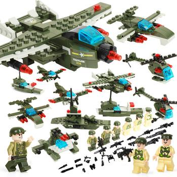 装甲坦克/空战轰炸机拼插积木484/或452颗粒 券后【19.9元】包邮丨拣宝吧丨在这里让你发现什么值得买