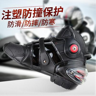 摩托车骑士靴防摔防护骑行靴机车鞋摩托赛车专用鞋摩托骑士装备男