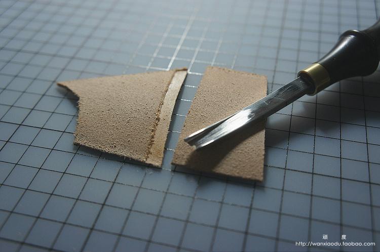 顽度 宽铲手工皮具DIY工具起鼓神器段削 削边削薄 配合起鼓捻压