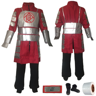 taobao agent Autumn Road Dingci Naruto cosplay men's clothing Man show costume Dingci 2nd generation full set of shoes with armor
