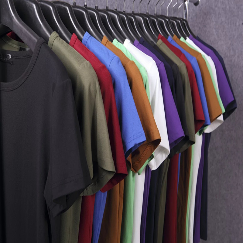 Mùa hè Mỏng màu rắn ngắn tay t-shirt nam XL vòng cổ casual Slim đáy áo sơ mi người đàn ông béo từ bi áo sơ mi