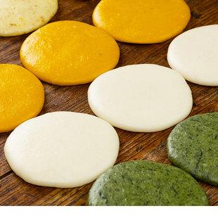 彩色手工糍粑 特产农家纯糯米糍粑块