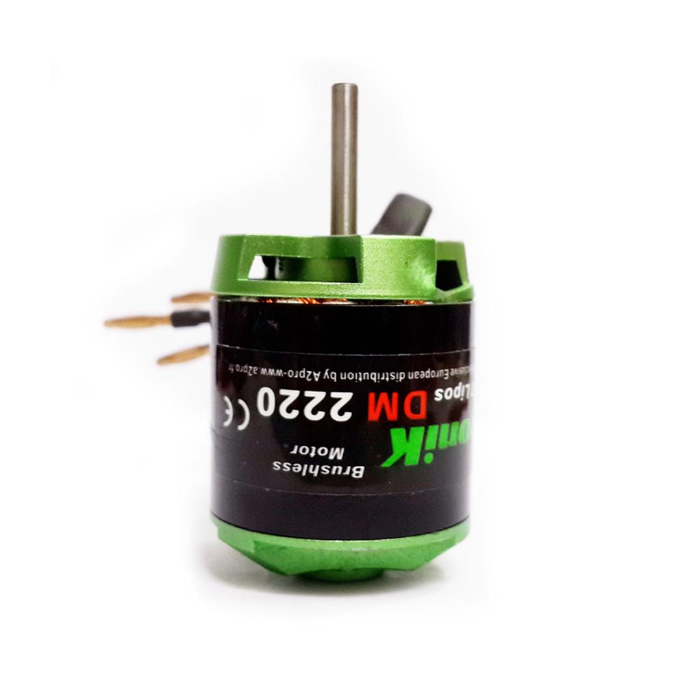 Brushless Motor DM2220 1700KV / 1 8Kg Thrust