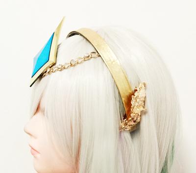 taobao agent Lux light element messenger light headwear cosplay jewelry