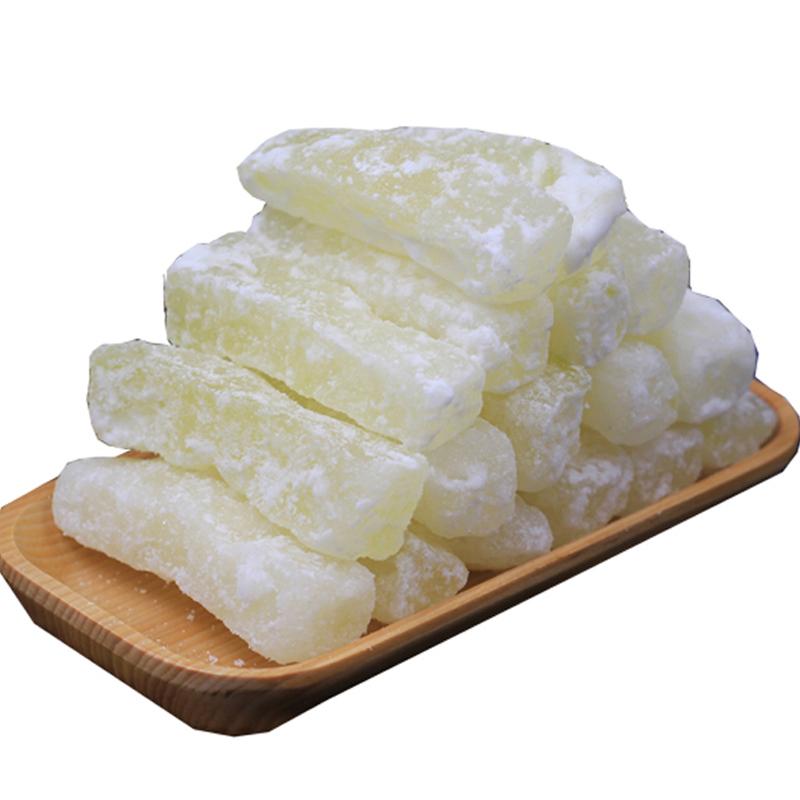 冬瓜糖老式传统蜜饯手工冰糖冬瓜条糖丁粒蔬果四川特产水果干500g