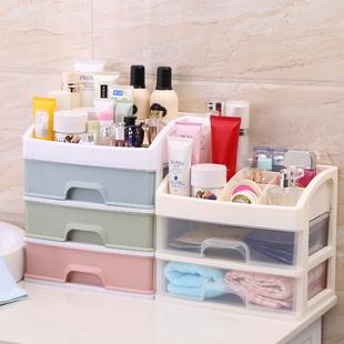 抽屉式化妆品塑料桌面收纳盒