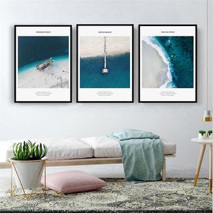 北欧风格客厅沙发背景墙装饰画