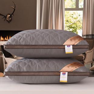 枕头枕芯一对装护颈椎舒适助睡眠单