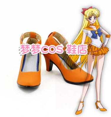 taobao agent Number 51-4 Sailor Moon-Aino Minako cosplay shoes