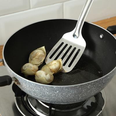 不锈钢锅铲漏勺汤勺家用加厚长柄厨具不烫手勺子炒菜铲子厨房用具