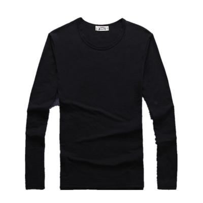 2018 mùa hè mới dài tay t-shirt nam phần mỏng mùa hè trắng V-Cổ xu hướng siêu mỏng thoáng khí quần áo bình thường thủy triều áo thun nam polo Áo phông dài