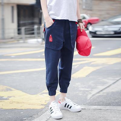 Mùa hè nam quần short giản dị 8 tám Hàn Quốc phiên bản của quần harem lỏng thể thao 9 chín điểm feet 7 bảy quần triều Quần Harem