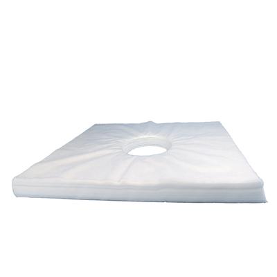 一次性按摩床洞巾美容院床垫趴枕巾