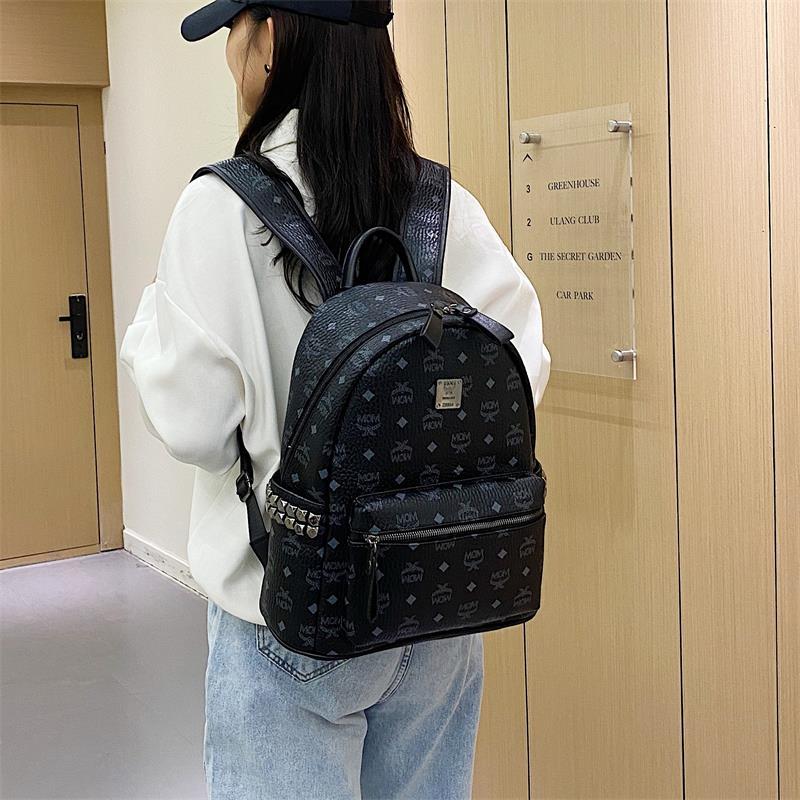 双肩包女2021年新款时尚韩版潮牌书包女大容量百搭女士背包旅行包