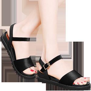 专柜正品 休闲鞋平跟平底女凉鞋 DS12-3232P120最低销售价158