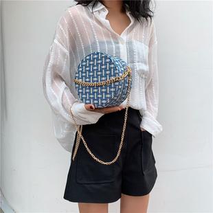 Франция небольшой Толпа пакет пакет сумки 2019 новый волна мода популярный сумка сумку сумочку маленькие круглые пакет