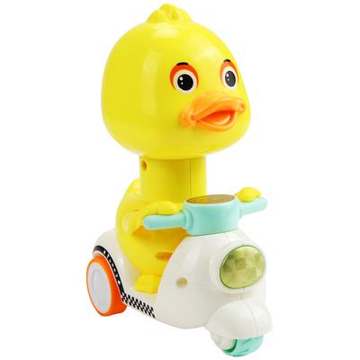抖音同款玩具:小黄鸭骑电瓶车