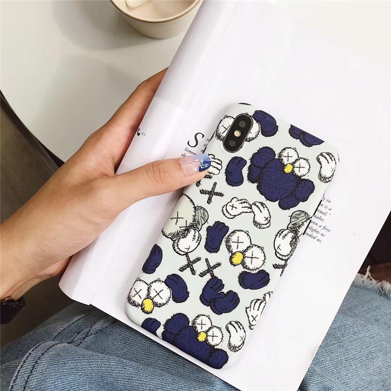 kaws手机壳iPhonexs芝麻街苹果7Plus/8Plus硅胶软8x潮牌卡通6s