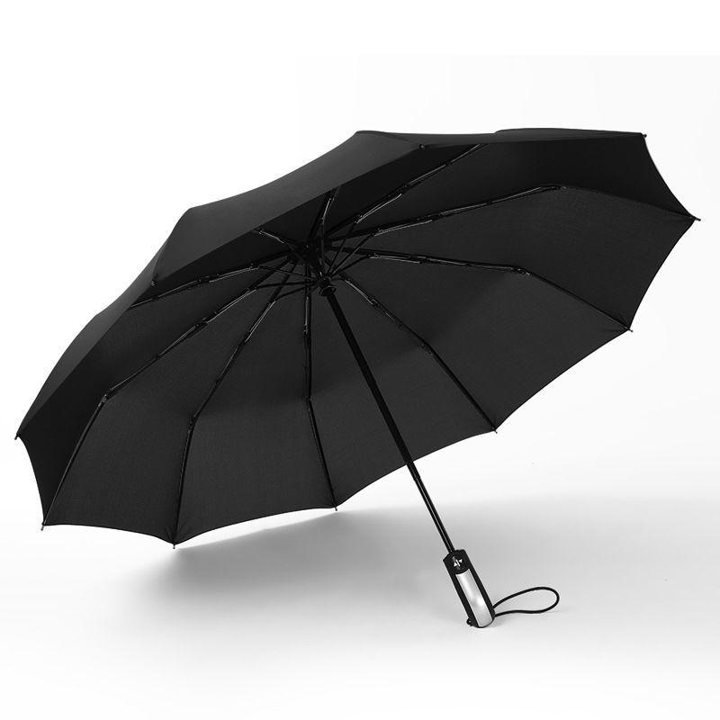 雨伞全自动男女加厚折叠遮阳防晒防紫外线长