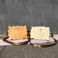 韩国可爱ins大儿童斜挎包女夹心饼干包日系软妹小挎包少女单肩包
