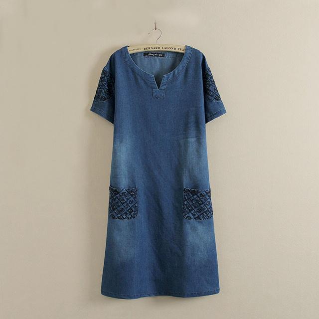 Купить джинсовый сарафан большого размера для женщин песня девушка в сером платье