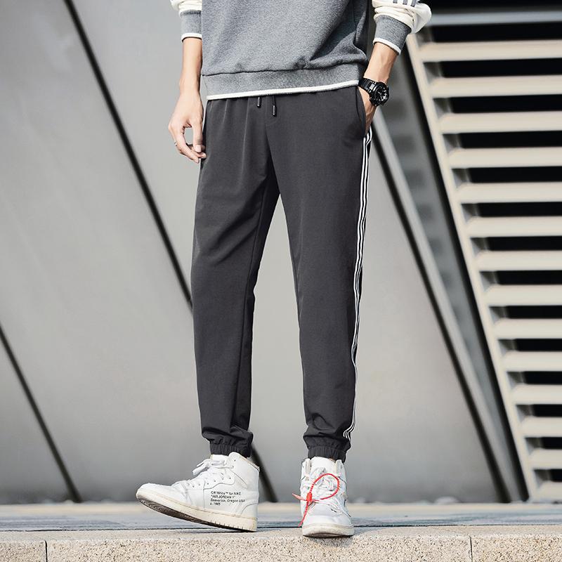 祖玛珑休闲裤男士宽松运动裤潮流学生卫裤