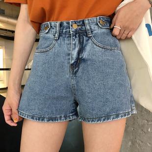 新款牛仔短裤韩版阔腿裤